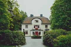 Cabaña de Stocholm Foto de archivo libre de regalías