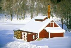 Cabaña del azúcar Imagen de archivo