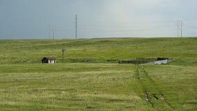 Cabaña del ganado Fotos de archivo libres de regalías