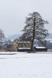 Cabaña del lago imagen de archivo
