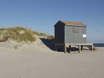 Cabaña del salvavidas imágenes de archivo libres de regalías