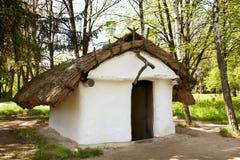 Cabaña del ucraniano del viejo estilo Fotografía de archivo