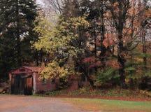 Cabaña en el Adirondacks fotos de archivo libres de regalías