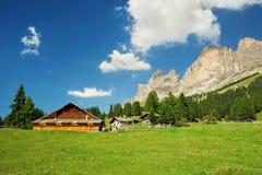 Cabaña en el Tyrol del sur Foto de archivo libre de regalías