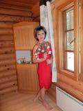 Cabaña en Finlandia Fotos de archivo libres de regalías