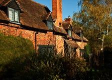 Cabaña inglesa del país Imagenes de archivo