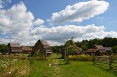 Cabaña medieval Fotografía de archivo