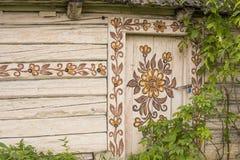 Cabaña pintada Imagen de archivo