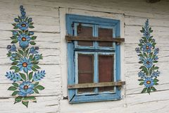 Cabaña pintada Foto de archivo libre de regalías