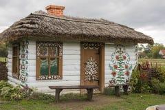 Cabaña pintada Fotos de archivo libres de regalías