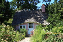 Cabaña rosada Imagen de archivo libre de regalías