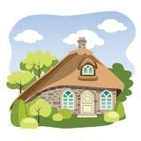 Cabaña rural ilustración del vector