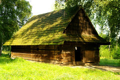 Cabaña rural en Polonia Fotos de archivo