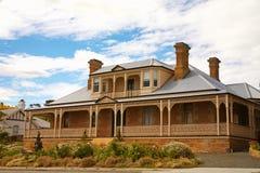 Cabaña temprana del estilo del Victorian Imagen de archivo