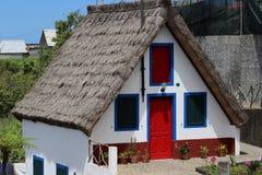 Cabaña tradicional en Madeira Fotografía de archivo