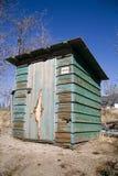 Cabaña verde Fotos de archivo