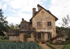 Cabaña Versalles Francia de Marie Antonieta Imágenes de archivo libres de regalías