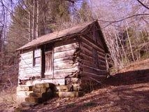 Cabaña vieja foto de archivo