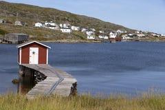 Cabaña vieja de la pesca Foto de archivo libre de regalías