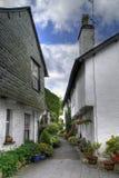 Cabañas de Cumbrian Foto de archivo libre de regalías