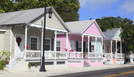 Cabañas de Key West, la Florida fotografía de archivo libre de regalías