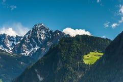 Cabañas de la montaña Fotos de archivo libres de regalías