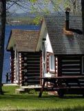 Cabañas del verano imagen de archivo libre de regalías