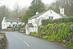 Cabañas en Cumbria Fotografía de archivo