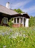 Cabaña del verano Fotografía de archivo