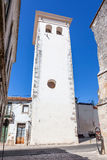 Cabacas塔、一座非常高中世纪前城堡的城楼和残余 免版税库存图片