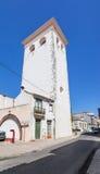 Cabacas塔、一座非常高中世纪前城堡的城楼和残余 库存图片