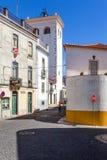 Cabacas torn, en mycket högväxt medeltida watchtower och kvarleva av den tidigare slotten Fotografering för Bildbyråer