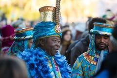 Cabalgata de Reyes Magos in Barcelona Stock Photo
