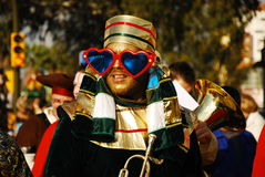 The Cabalgata los Reyes Magos Royalty Free Stock Photography