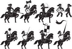 Caballero-armado ilustración del vector