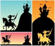 Caballero Backgrounds Fotos de archivo libres de regalías