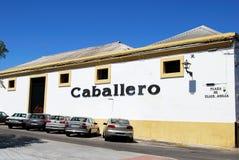 Caballero Bodega, El Puerto de Santa Maria. Royalty Free Stock Image