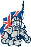 Caballero British Flag Retro libre illustration