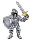 Caballero Cartoon Mascot Imagen de archivo