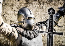 Caballero con la espada libre illustration