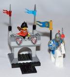 Caballero de Lego Imagenes de archivo