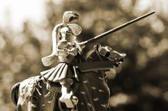 Caballero del caballo Fotografía de archivo libre de regalías