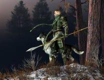 Caballero del invierno libre illustration