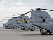 Caballero del mar de CH-46E foto de archivo