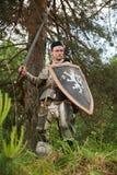 Caballero en armadura Fotos de archivo