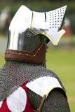 Caballero en armadura brillante Imagen de archivo libre de regalías