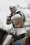 Caballero en la armadura 2 Fotografía de archivo
