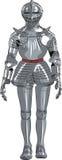 Caballero medieval de la armadura del vector Fotografía de archivo