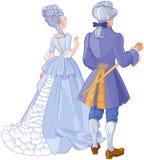 Caballero y señora libre illustration