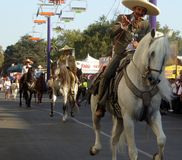 Caballeros at the Los Angeles County Fair. Royalty Free Stock Photography